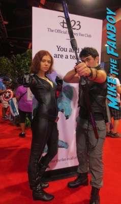 D23 cosplay 2015 princesses black widow 14