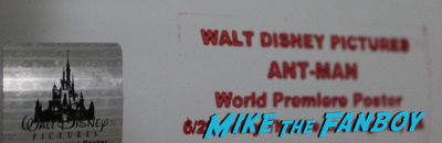 Fake signed autograph hologram premiere posters marvel 3