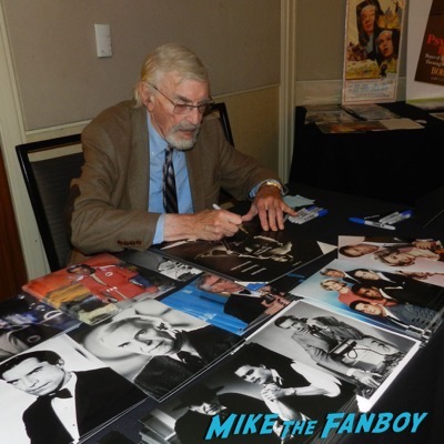 martin landau signing autographs Hollywood Show August 2015 Richard Herd Martin Landau 2