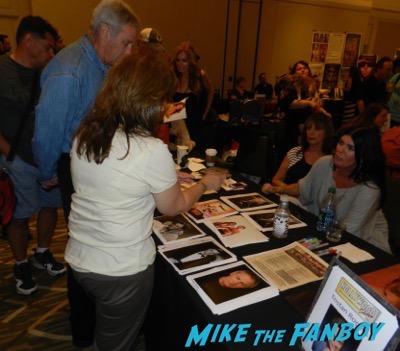 martin landau signing autographs Hollywood Show August 2015 Richard Herd Martin Landau 2