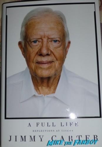 Jimmy Carter Book Signing Vroman's Pasadena CA Autograph Signed 1