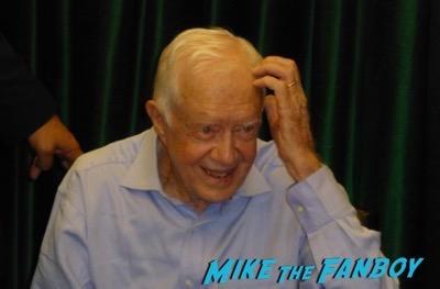 Jimmy Carter Book Signing Vroman's Pasadena CA Autograph Signed 6