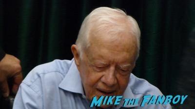 Jimmy Carter Book Signing Vroman's Pasadena CA Autograph Signed 9