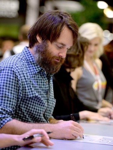 Last Man On Earth Cast Signing SDCC 2015 Will Forte January Jones 12