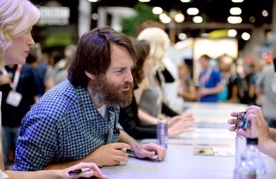 Last Man On Earth Cast Signing SDCC 2015 Will Forte January Jones 13