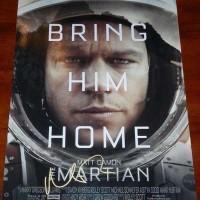 Matt damon signed the martian poster autograph