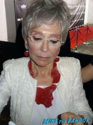 Rita Moreno signing autographs 2015 oz Sister Peter Marie 4