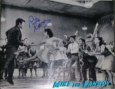 Rita Moreno signed autograph west side story photo
