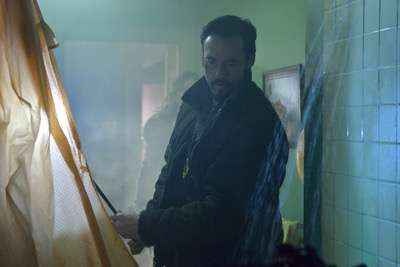 "THE STRAIN -- ""Quick and Painless"" -- Episode 205 (Airs August 9, 10:00 pm e/p) Pictured: Kevin Durand as Vasiliy Fet. CR: Michael Gibson/FX"