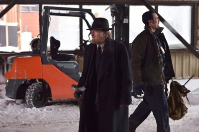 "THE STRAIN -- ""The Born"" -- Episode 207 (Airs August 23, 10:00 pm e/p) Pictured: (l-r) David Bradley as Abraham Setrakian, Kevin Durand as Vasiliy Fet."