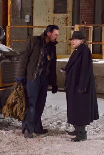 "THE STRAIN -- ""The Born"" -- Episode 207 (Airs August 23, 10:00 pm e/p) Pictured: (l-r) Kevin Durand as Vasiliy Fet, David Bradley as Abraham Setrakian."