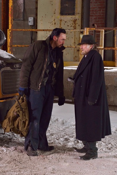 "THE STRAIN -- ""The Born"" -- Episode 207 (Airs August 23, 10:00 pm e/p) Pictured: (l-r) Kevin Durand as Vasiliy Fet, David Bradley as Abraham Setrakian."