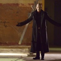 "THE STRAIN -- ""The Born"" -- Episode 207 (Airs August 23, 10:00 pm e/p) Pictured: Rupert Penry-Jones as Quinlan."