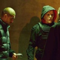 "THE STRAIN -- ""BK, NY"" -- Episode 201 (Airs July 12, 10:00 pm e/p) Pictured: (l-r) Miguel Gomez as Gus Elizade, Stephen McHattie as Quinlan. CR: Michael Gibson/FX"