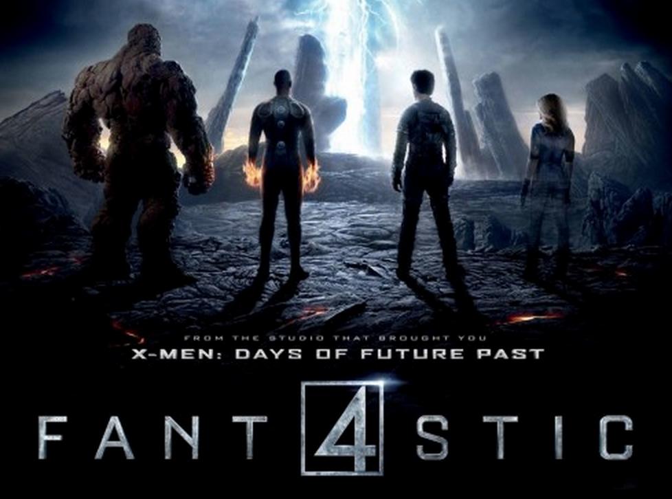 Fantastic Four Reboot logo