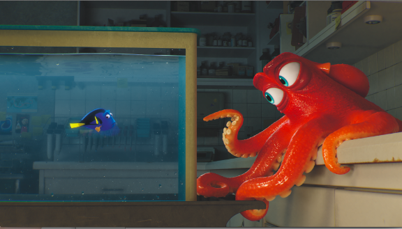 finding dory sneak peak
