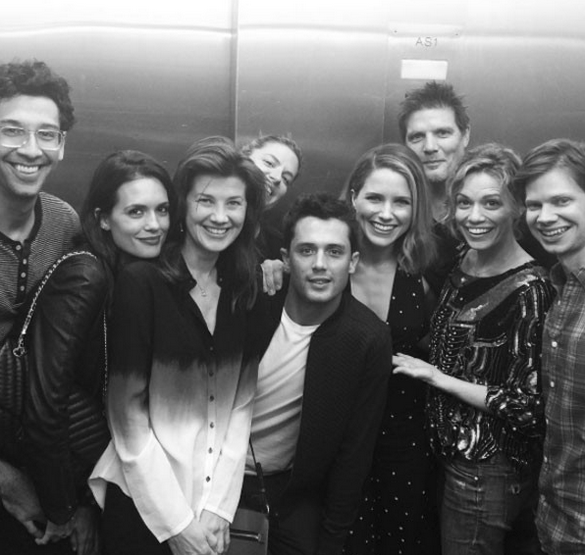 one tree hill reunion ophia Bush, Bethany Joy Lenz, Daphne Zuniga and Stephen Colletti