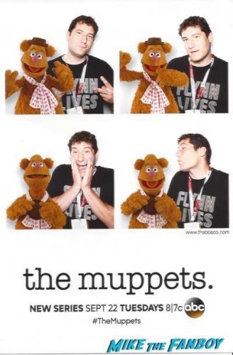 The Muppetts autograph signing comic con 2015 ABC 1