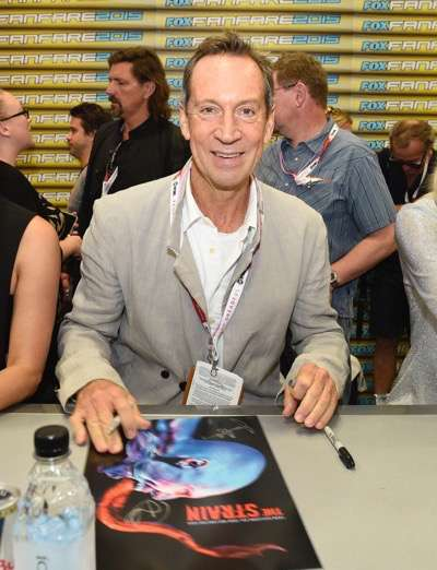 Jonathan Hyde at the 'The Strain' booth signing during Comic-Con International 2015 at the San Diego Convention Center on July 12, 2015 in San Diego, California. Cr: Alan Hess/PictureGroup/FX