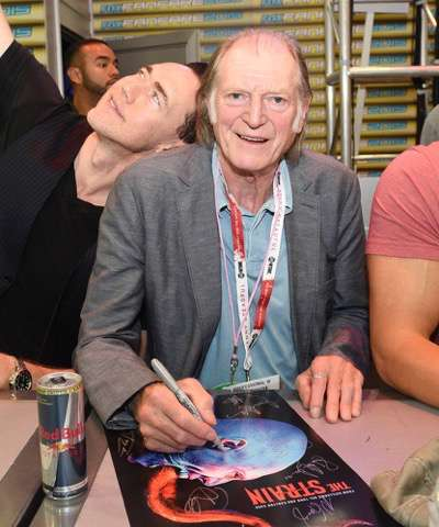 David Bradley at the 'The Strain' booth signing during Comic-Con International 2015 at the San Diego Convention Center on July 12, 2015 in San Diego, California. Cr: Alan Hess/PictureGroup/FX