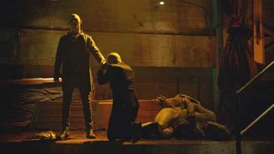 "THE STRAIN -- ""Identity"" -- Episode 206 (Airs August 16, 10:00 pm e/p) Pictured: (l-r) Jack Kesy as Bolivar/The Master, Richard Sammel as Thomas Eichhorst."