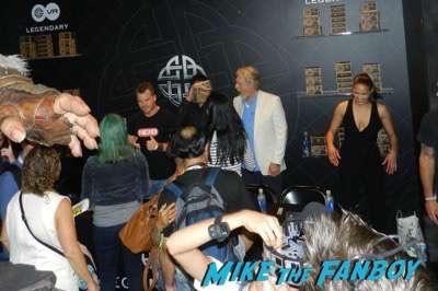 Warcraft Horde autograph signing comic con paula patton 2