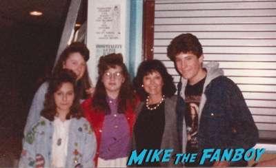 Yvonne Craig fan photo signed autograph rip2