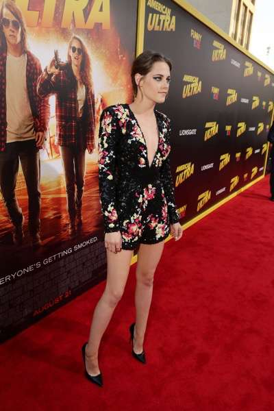 Kristen Stewart seen at The World Premiere of Lionsgate's 'American Ultra' at Ace Hotel on Tuesday, August 18, 2015, in Los Angeles, CA. (Photo by Eric Charbonneau/Invision for Lionsgate/AP Images)