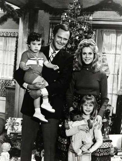 bewitched cast photo rare
