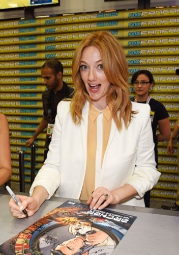 Judy Greer during The 'Archer' booth signing at Comic-Con International 2015 in San Diego, California.  Cr: Alan Hess/PictureGroup/FX