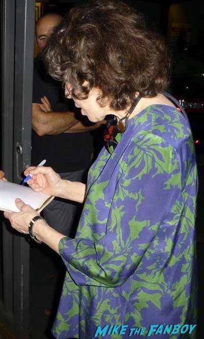 lily tomlin fan photo signing autographs 2015 grandma q and a 1