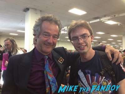 Jeffrey Weissman (George McFly) london film and comic con back to the future reunion lea thompson 5