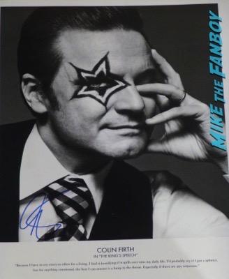 colin firth signed autograph w magazine oscars 2011 photos 11