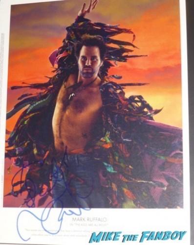 mark ruffalo signed autograph w magazine oscars 2011 photos 9