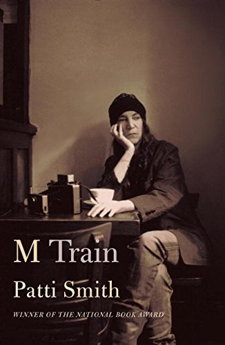 patti smith m train signed book