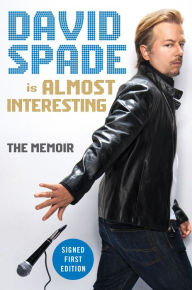david spade signed book
