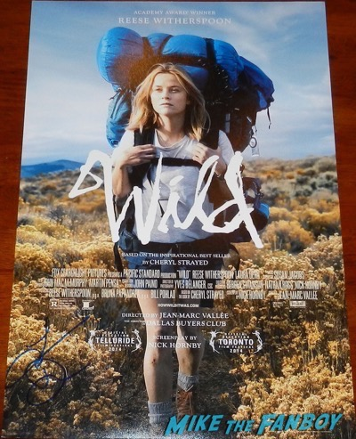 laura dern signed autograph wild mini poster