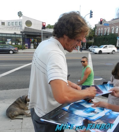 Michael Shannon signing autographs 2015 laura dern 6