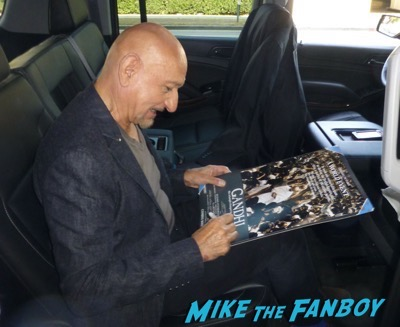 Ben Kingsley signing autographs q and a rare