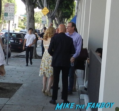 Ben Kingsley patricia clarkson q and a signing autographs 4