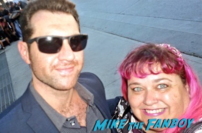 Billy Eichner fan photo emmys 2015
