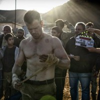Matt damon shirtless bourne 2016