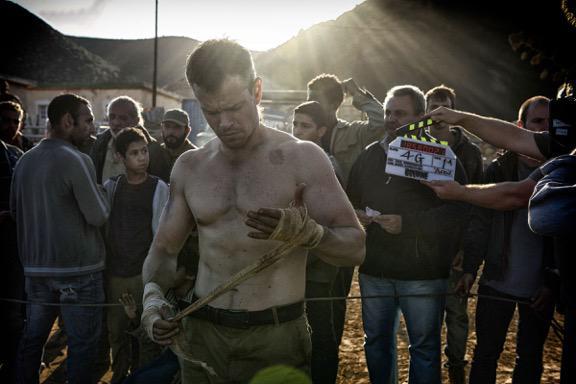 Matt damon shirtless bourne 2016