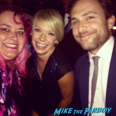 Charlie Day fan photo emmys 2015