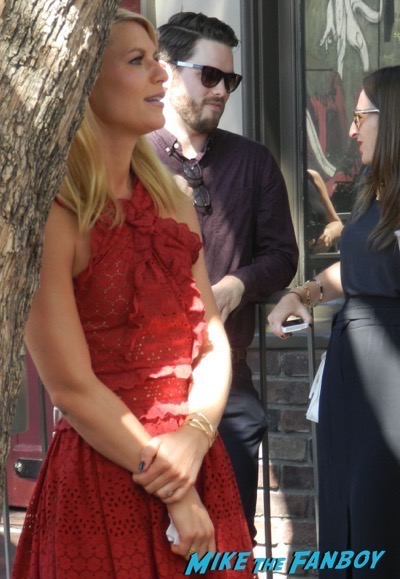 Claire Danes Walk Of Fame Star Ceremony Signing Autographs 12