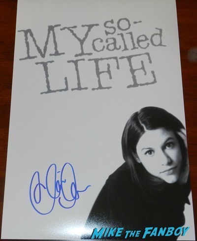 claire danes signed autograph my So-called life poster