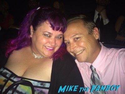 pinky and keith coogan at the Emmys