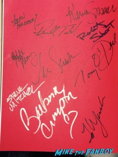 fangoria book signed autograph