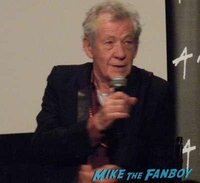 Ian McKellen mr. holmes q and a 18