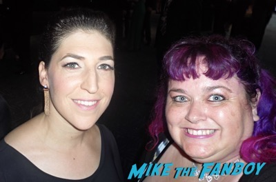 Mayim Bialik fan photo emmys 2015